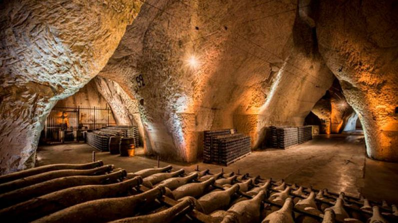 "The Champagne vineyards and cellars have been classified ""World Heritage"""