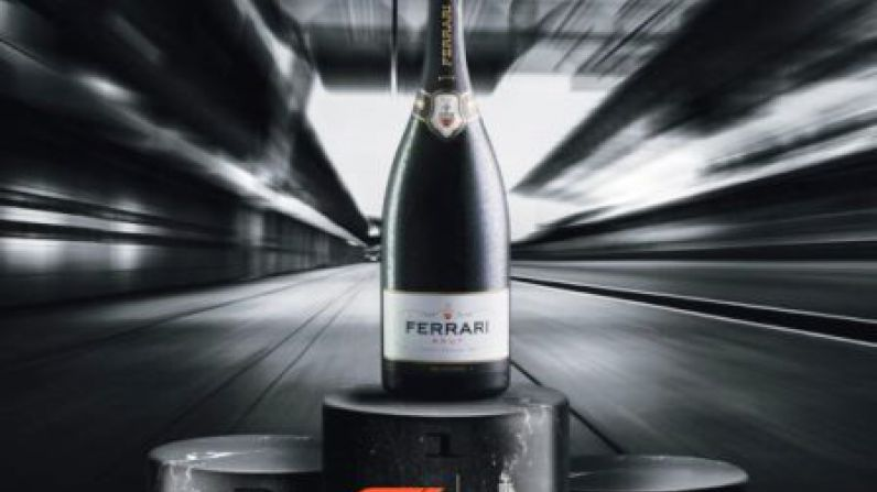 Ferrari sparkling wine becomes official toast of Formula 1 Racing