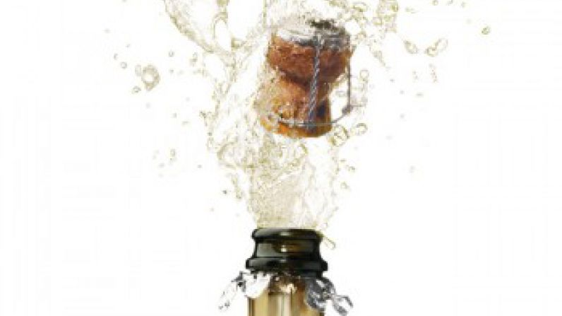 Man in coma after champagne bottle explodes between legs.