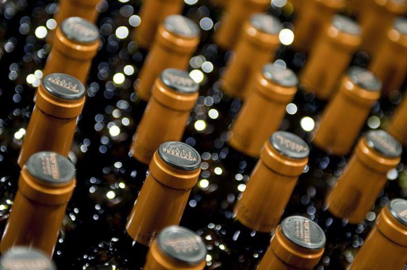 Bottles of Castell de Peralada