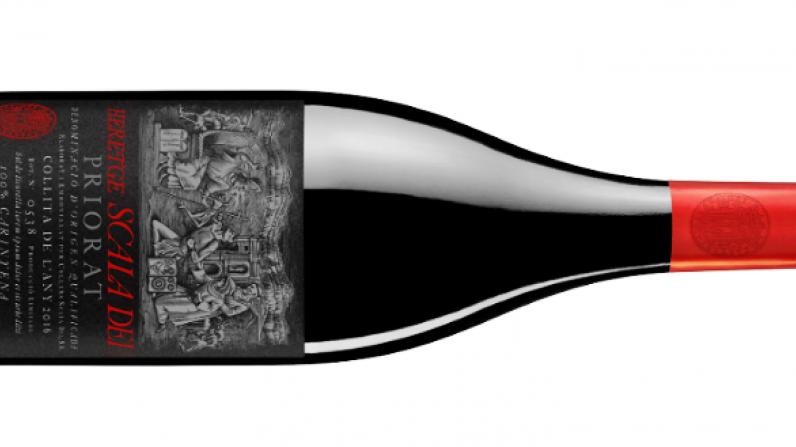 Scala Dei Heretge, the DOCa Priorat´s Top wine according to Decanter World Wine Awards.