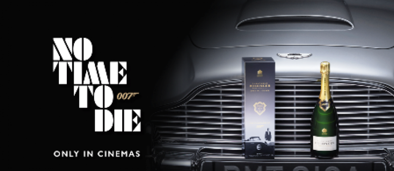 Bollinger debuts limited edition James Bond-themed Cuvée 007
