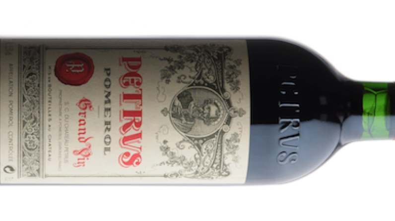 """Space-aged Petrus tastes """"more floral"""" than earth-aged equivalent."""