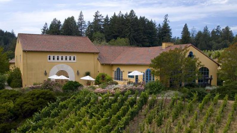 The winery with its Catalan-style farmhouse