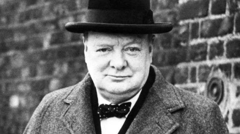 Churchill drank two bottles of champagne a day.
