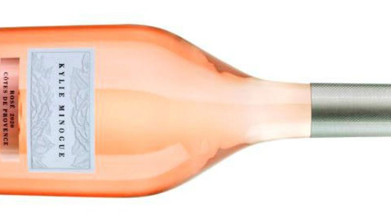 Kylie´s new rosé launches in Morrisons.