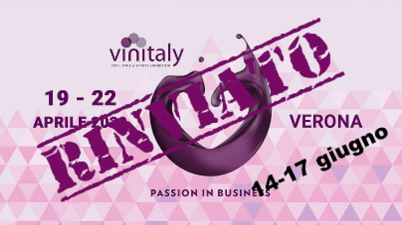 VINITALY postponed to June.