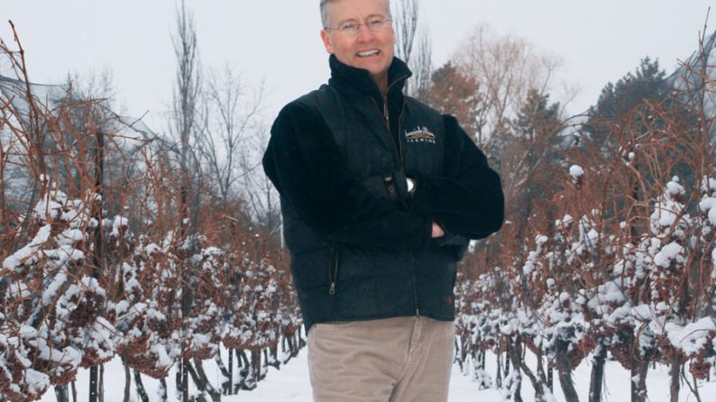Bruce Nicholson, the producer of Inniskillin