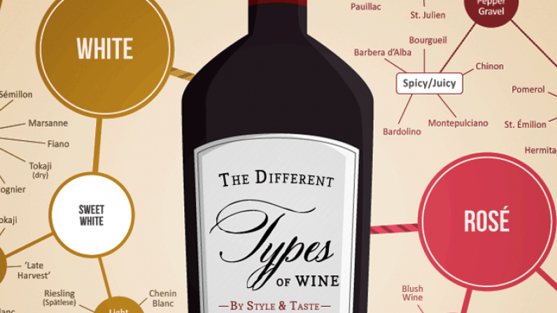 The Many Different Types of Wine [Infographic]