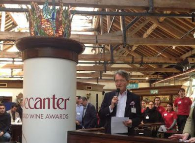 Steven Spurrier Decanter World Wine Awards 2015