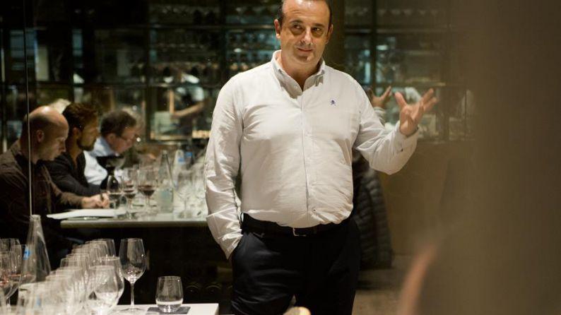 Julio Sáenz, oenologist of Rioja Alta