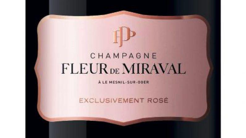 Brad Pitt releases £290 rosé champagne, Fleur de Miraval.