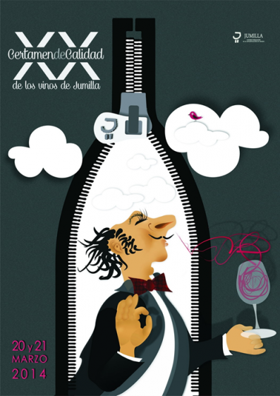 The Jumilla Wine Quality Contest 2014 commemorative poster