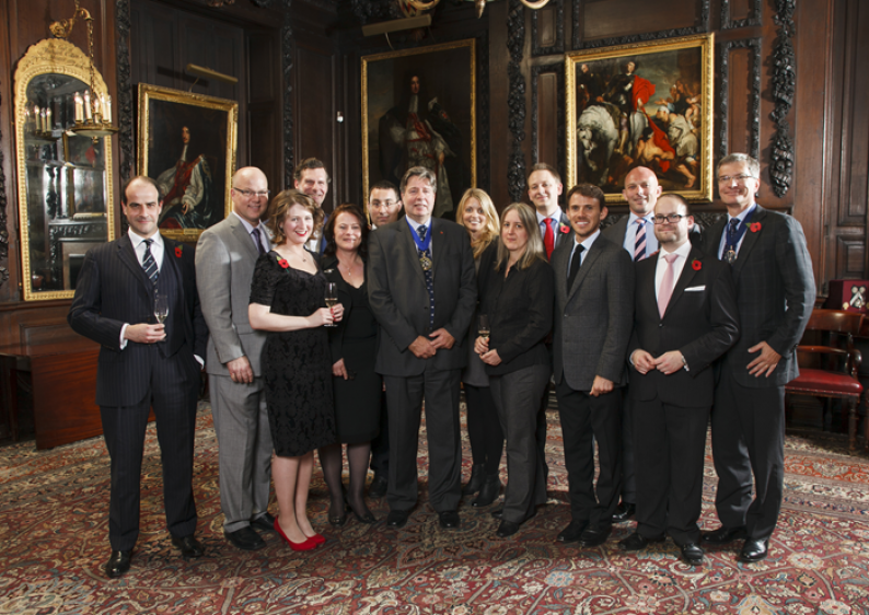 The new Masters of Wine in November 2013