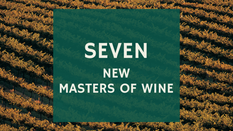 Seven new Masters of Wine