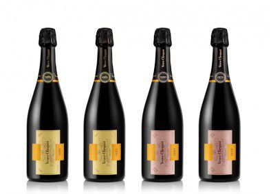 The complete collection of Veuve Clicquot's Cave Privée