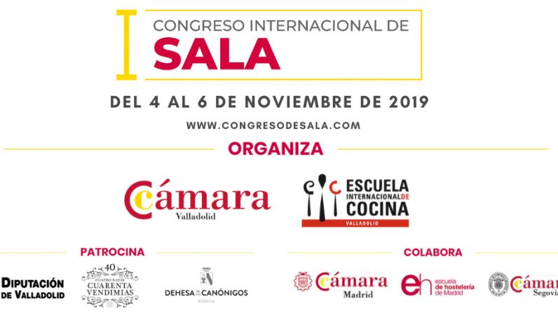 La Cámara de Comercio de Valladolid y su Escuela de cocina, organizan el I Congreso Internacional de Sala, con más de 20 ponentes nacionales e internacionales.