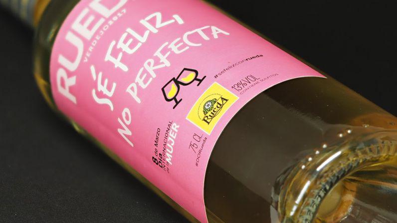 La D.O. Rueda apoya el día de la mujer con una botella de edición limitada.