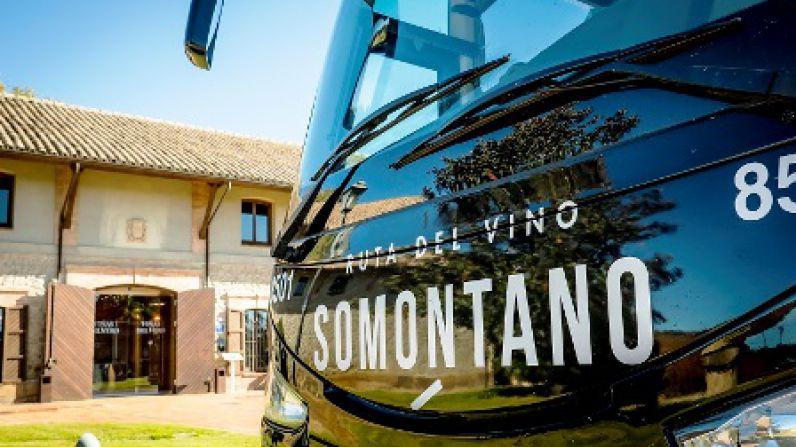 Bus del Vino Somontano, 10 años viajando por los sentidos de Somontano.