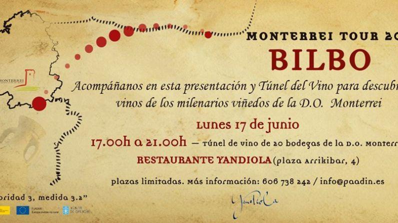Los vinos de la D.O. Monterrei viajan a Bilbao.