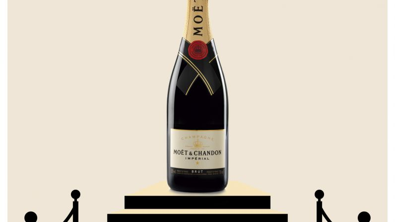 Moët & Chandon, el champagne del cine, llenará de burbujas la 32ª edición de los Premios Goya