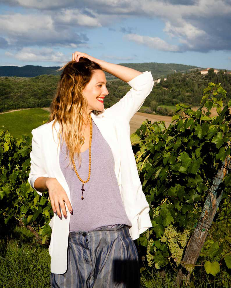 Drew Barrymore, propietaria de Barrymore wines