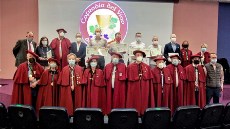 Familia Cirsus obtiene dos galardones en el Concurso de la Cofradía del Vino de Navarra.