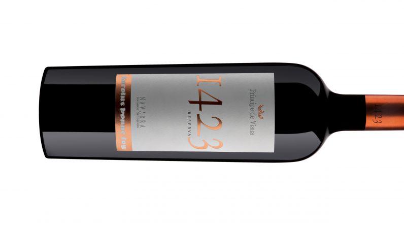 Príncipe de Viana 1423 Reserva 2013 Medalla de Oro Sommelier Wine Awards
