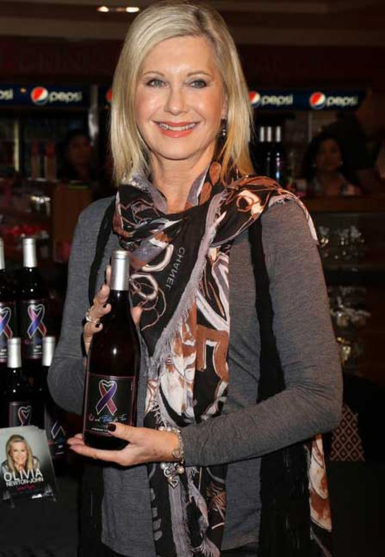 Olivia Newton-John, productora de vinos