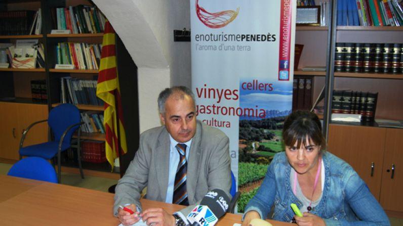 El Penedès recibe 435.908 enoturistas durante el 2012