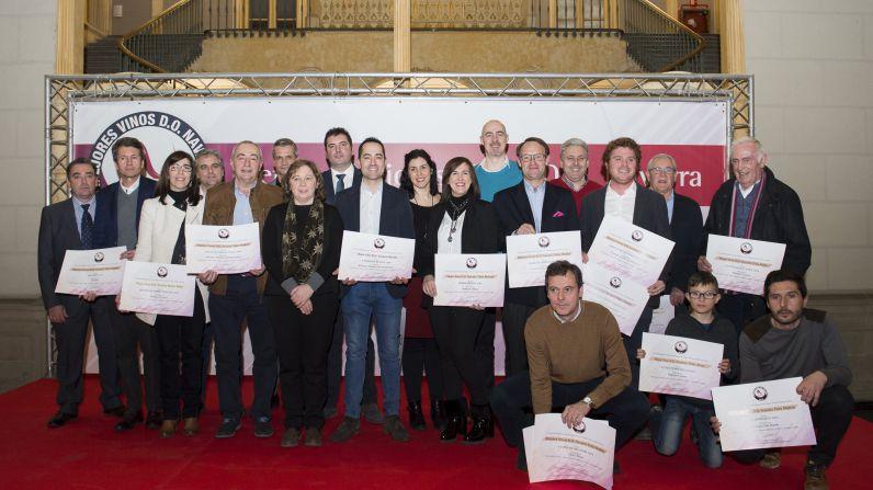 El Consejo Regulador entrega los Premios Mejores Vinos D.O. Navarra 2018