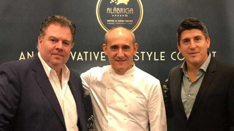 Perinet Winery, los vinos del chef Paco Pérez para la presentación de su nueva Estrella Michelín.