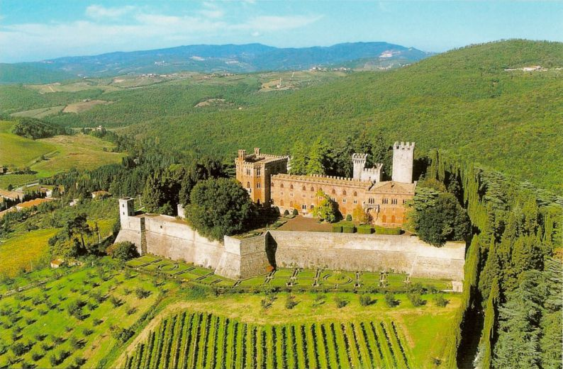 Barone Ricasoli Castello di Brolio
