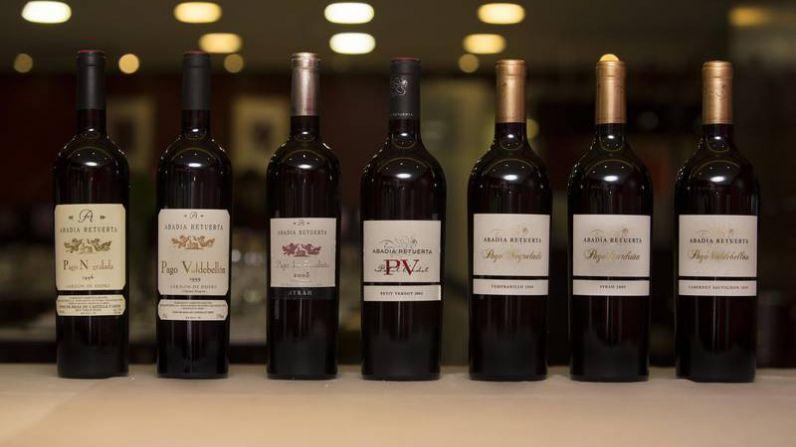 Una cata de vinos a través de la historia de Abadia Retuerta