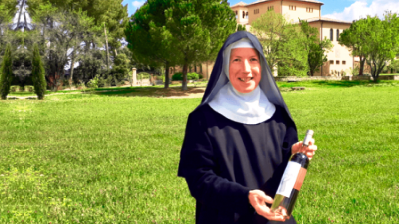 Monjas francesas esperan vender 9.000 botellas de vino rosado este lunes