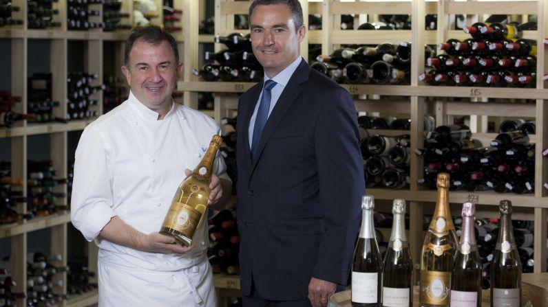 Martin Berasategui y Louis Roederer, la unión de dos grandes figuras gastronómicas.