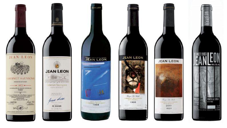 Selección de vinos de la bodega Jean Leon