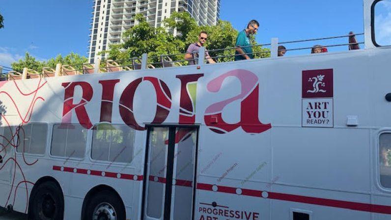 Presencia destacada de Rioja en la escena artística de Miami.