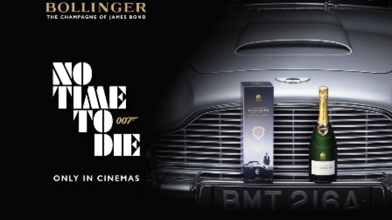 Bollinger estrena edición limitada Cuvée 007 con temática de James Bond