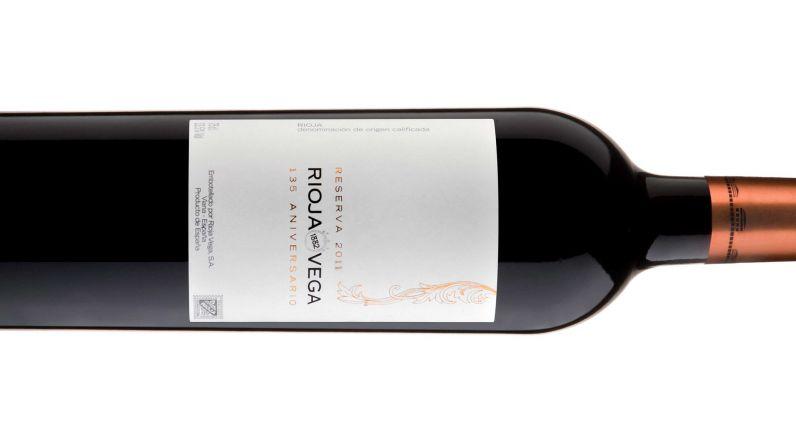 Rioja Vega 135 Aniversario Reserva 2011 es MASTER en la categoría de Vinos de Autor, honor máximo que concede el concurso Rioja Masters.