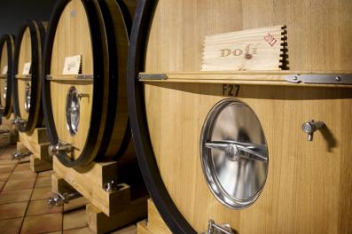 Barrica de vino Finca Dofí