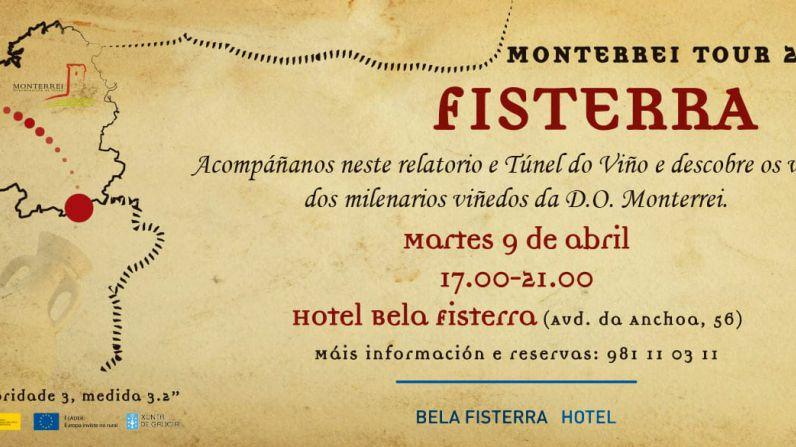 Los vinos de la D.O. Monterrei viajan a Fisterra.