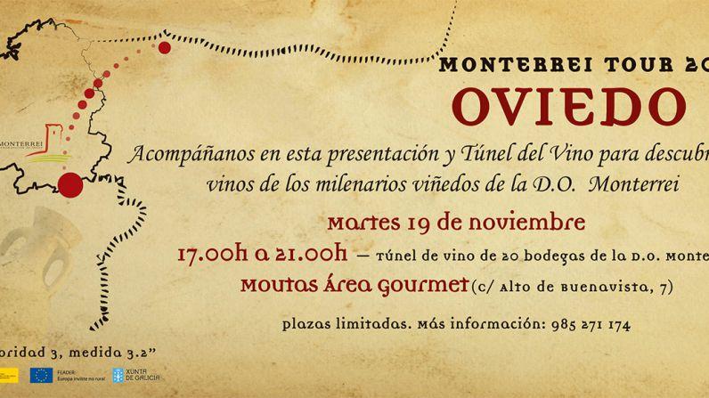 Los vinos de la D.O. Monterrei viajan a Oviedo.