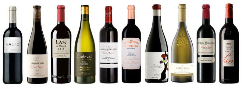 Los mejores vinos de España 2015