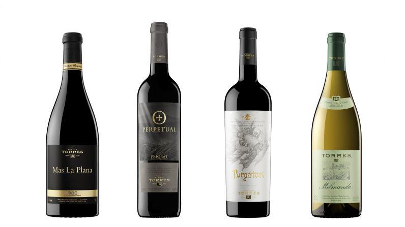Los nueve vinos de Familia Torres con más de 90 puntos Parker