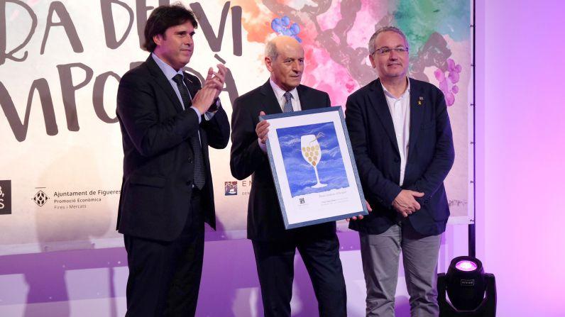 Vins i Licors Grau recibe el Lledoner d´Or de la D.O. Empordà