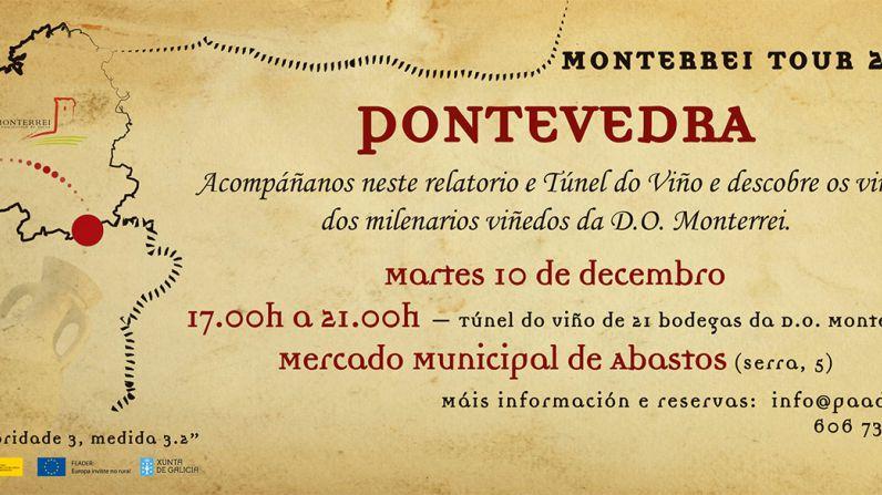 Los vinos de la D.O. Monterrei llegan a Pontevedra.