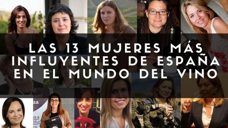 Las 13 mujeres más influyentes de España en el mundo del vino