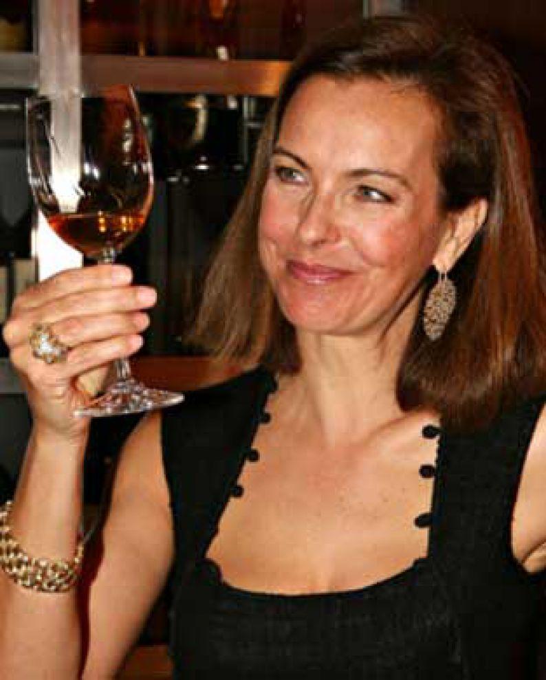 Carole Bouquet, propietaria de Sangue d'Oro