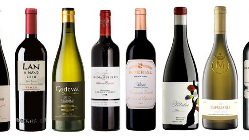 Los 10 mejores vinos de España 2015